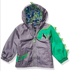 🎃🎃London Fog Dino raincoat size 5/6